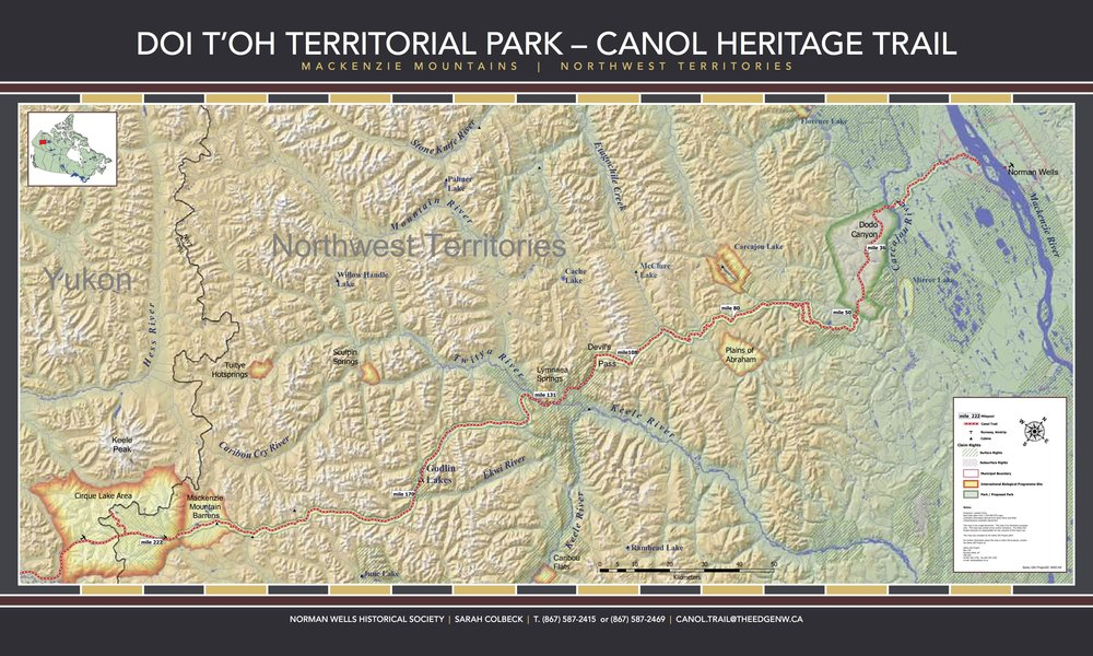- Click for the high resolution map and information booklet