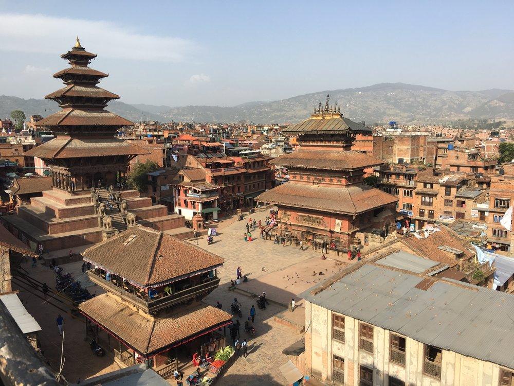 Taumadhi Square, Bhaktapur (Source: N Rykiel)