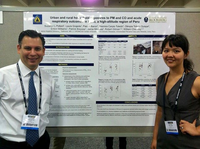 As the #GlobalNCDs team gears up for #ATS2018, we thought it was apropos to #FBF to the ATS Conference in 2012, when Suzy Pollard was attending #ATSConference for the first time, and our group was presenting our first findings on the health effects of #biomass fuel exposures! See how far we've come next week in San Diego! #LungHealth meets #GlobalHealth research! #CleanCookstoves  #HAPExposure #biomasa #biomasaencasa