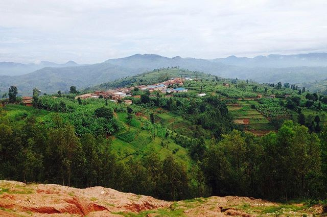 """This is my most favorite view of the village I lived in for 2 years as a Peace Corps volunteer in Rwanda (2015-2017). It represents all that my village has to offer- the agricultural land, town center, health center where I worked, school, church, and beautiful scenery above the clouds. I miss it everyday!"" - Shreya Desai, Johns Hopkins School of Public Health #globalNCD #photocontest #globalhealth #NCDs #publichealth"