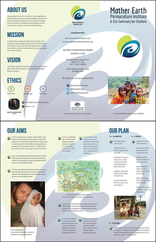 Mother Earth Brochure Design