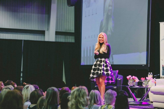 Gretchen Christine Rossi spoke about the ups and downs of being a celebrity and tips for reaching your potential