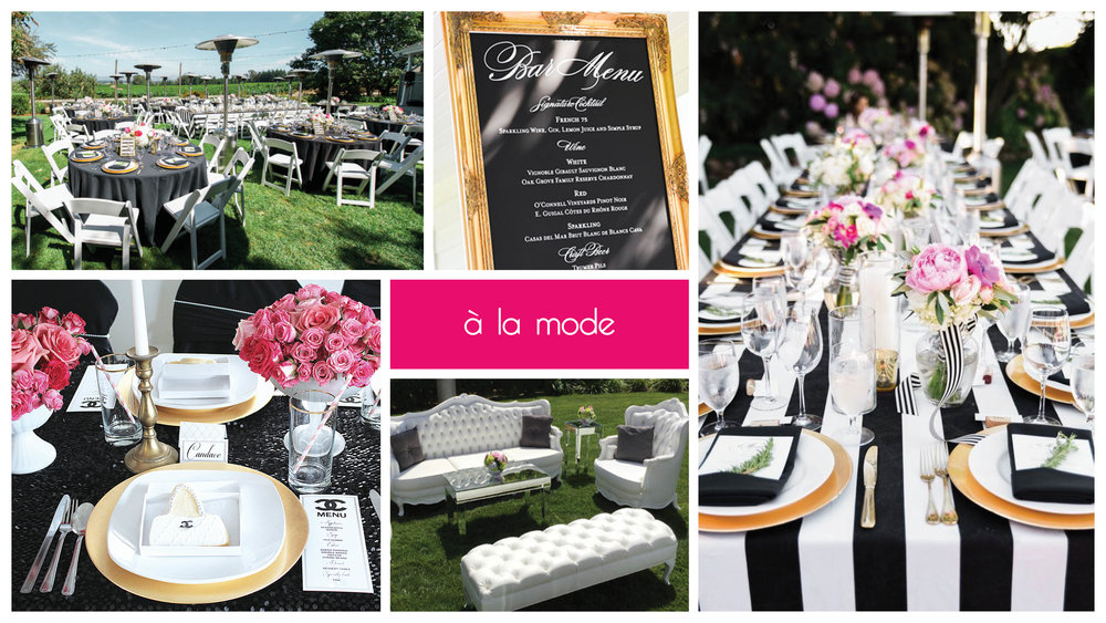 A La Mode Party Package