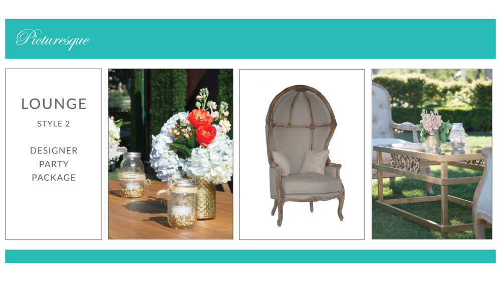 Picturesque Lounge Package: Style 2