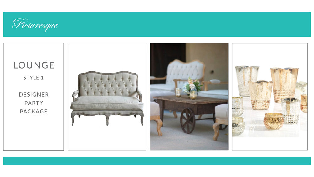 Picturesque Lounge Package: Style 1