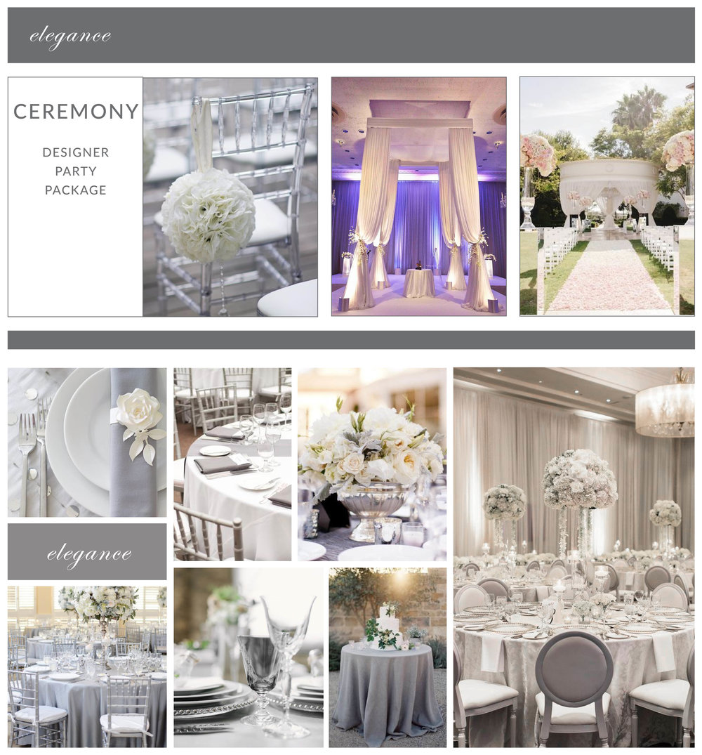 elegance ceremony package