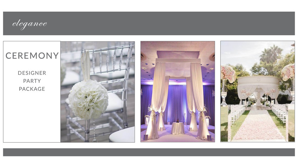 ADD-ON: Elegance Ceremony Package