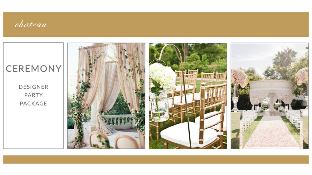 ADD-ON: Chateau Ceremony Package