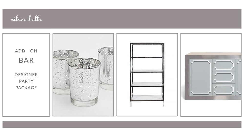 ADD-ON: Silver Bells Bar Package
