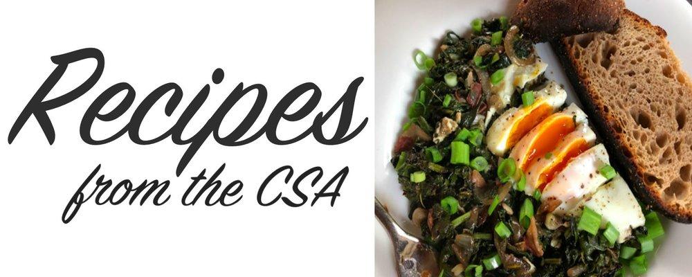 Recipes from the CSA - Greens + Egg Saute1.jpg