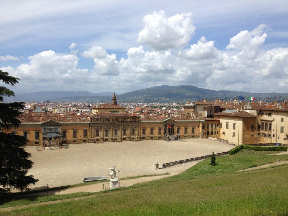 Pitti Palace and gardens