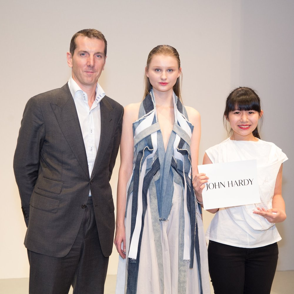 "Special Prize: ""The EcoChic Design Award 2014/15 with John Hardy"" Winner Laurensia Salim, Singapore"