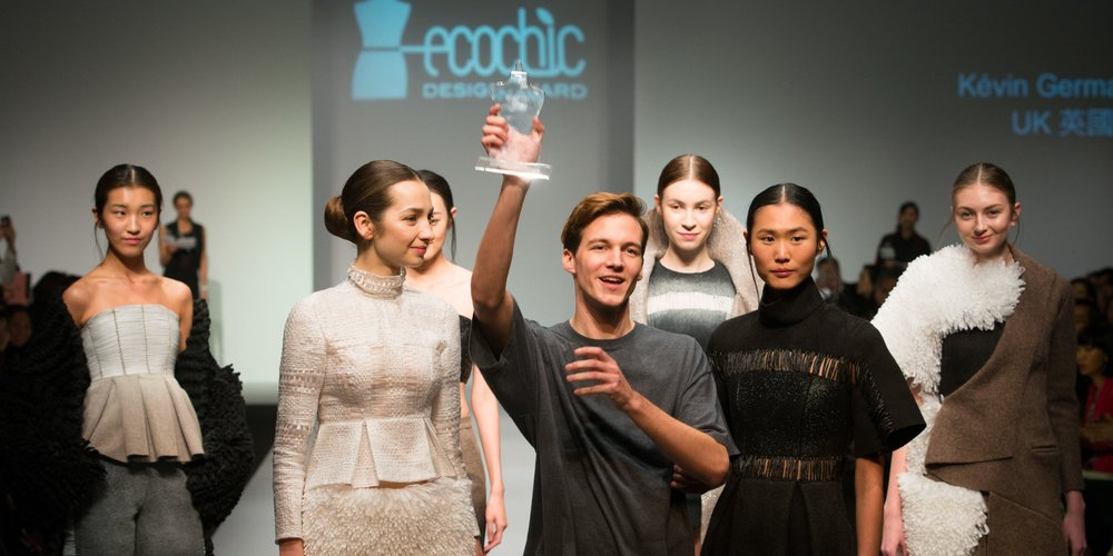The first prize The EcoChic Design Award 2014-15 in Partnership with Shanghai Tang Winner Kévin Germanier.jpg