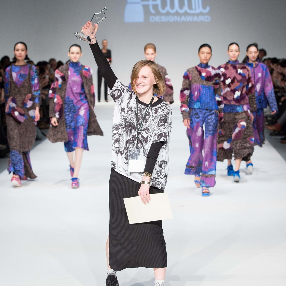 First prize: The EcoChic Design Award 2015/16 with Shanghai Tang Winner   Patrycja Guzik, Poland