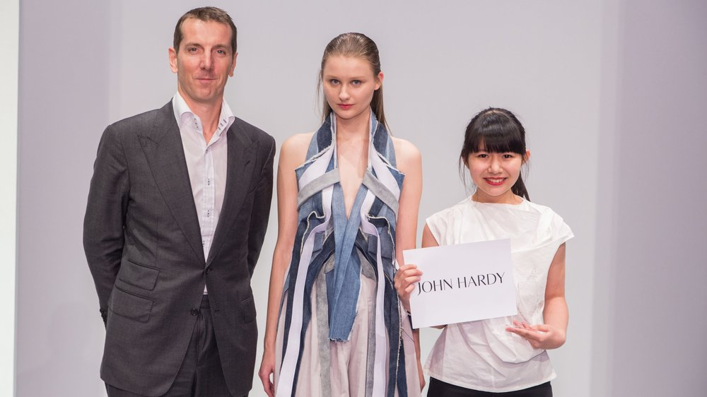 Laurensia Salim won the Special Prize: The EcoChic Design Award 2014/15 with John Hardy