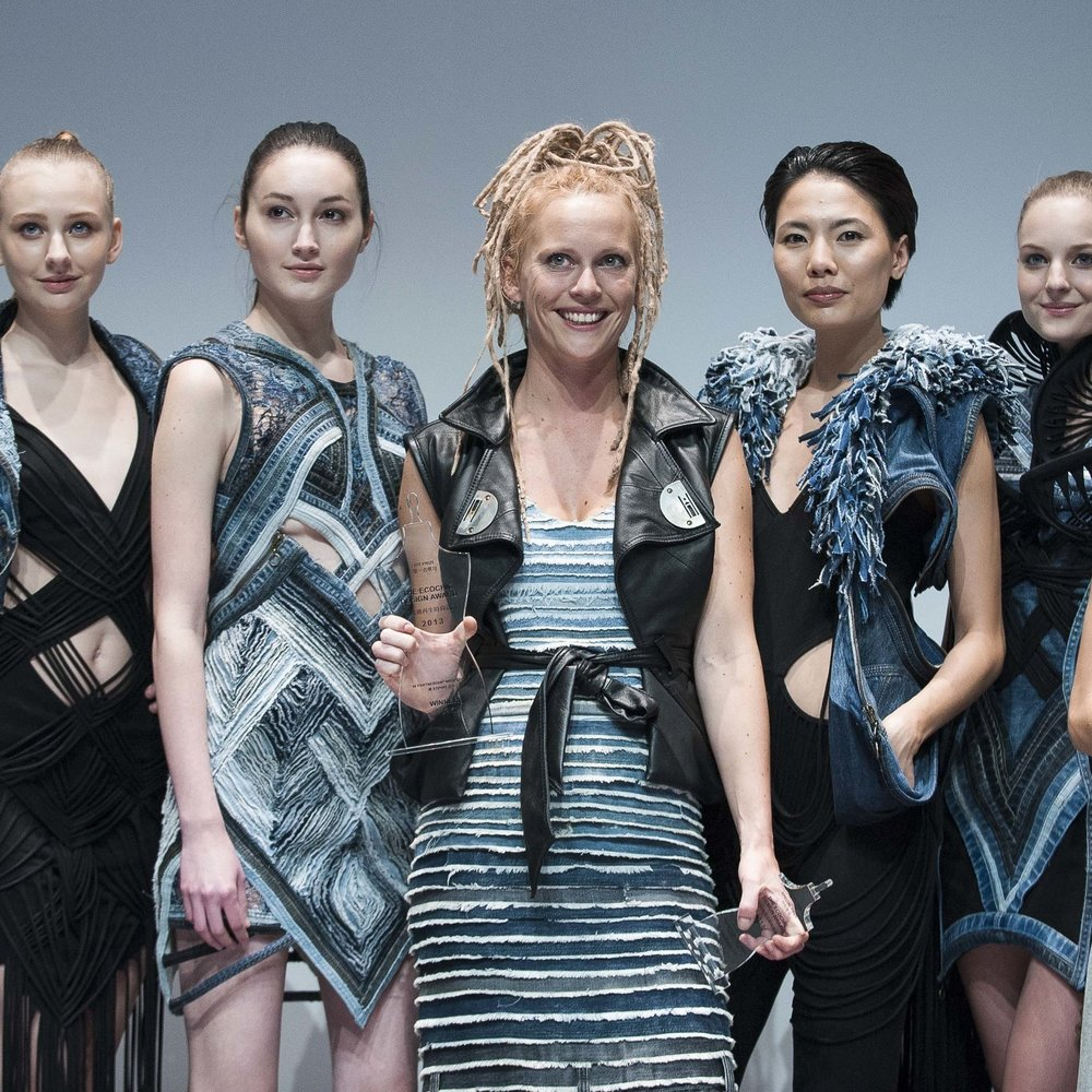"First Prize: ""The EcoChic Design Award 2013 with Esprit"" Winner Karen Jessen, Germany"