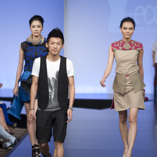 The EcoChic Design Award 2012 Hong Kong Most Promising Student Award Kelvin Wan, Hong Kong