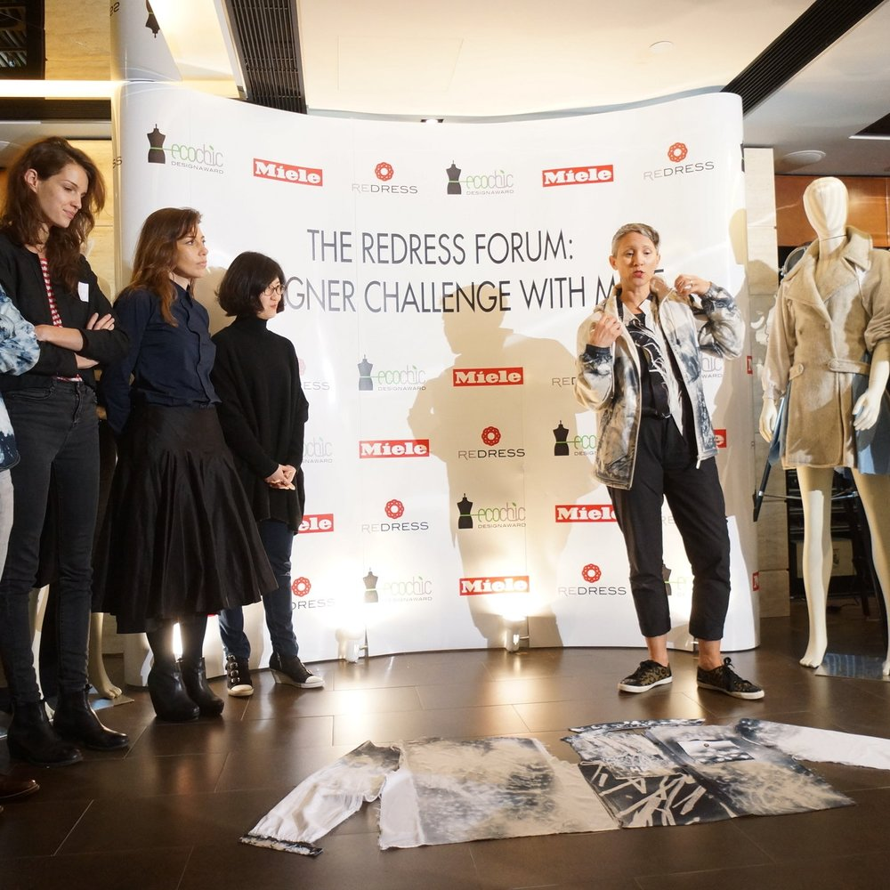 The Redress Forum: Designer Challenge with Miele