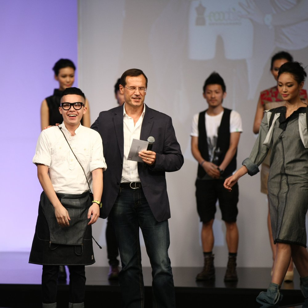 "First Prize: ""The EcoChic Design Award Hong Kong 2012 in partnership with Esprit and the British Council"" Winner Wister Tsang, Hong Kong"