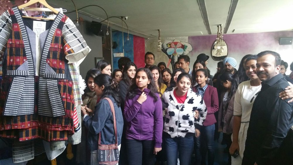 EcoChic Design Award Fashion Academy in New Delhi