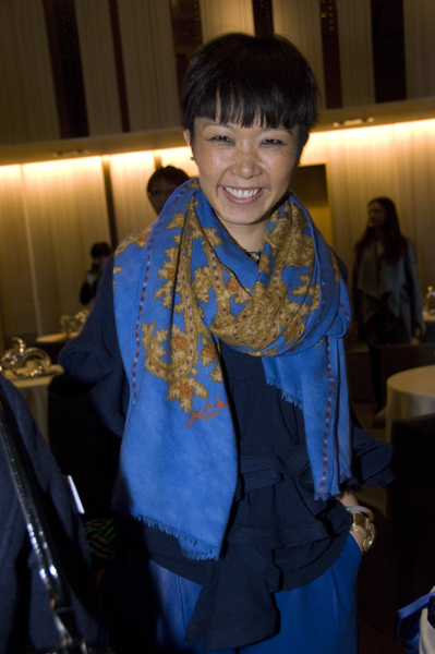 Hong Kong designer Johanna Ho attends the Redress Design Award 2011 Hong Kong launch event