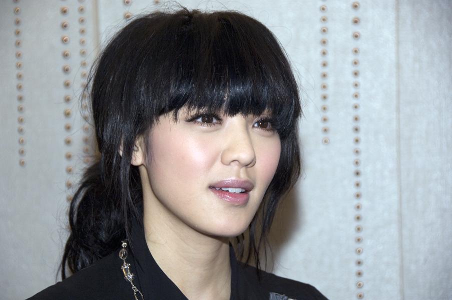 Hong Kong actress Ella Koon attends the Redress Design Award 2011 Hong Kong launch event