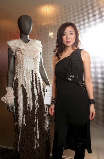 Chinese Singer Sandy Lam supports the Redress Design Award