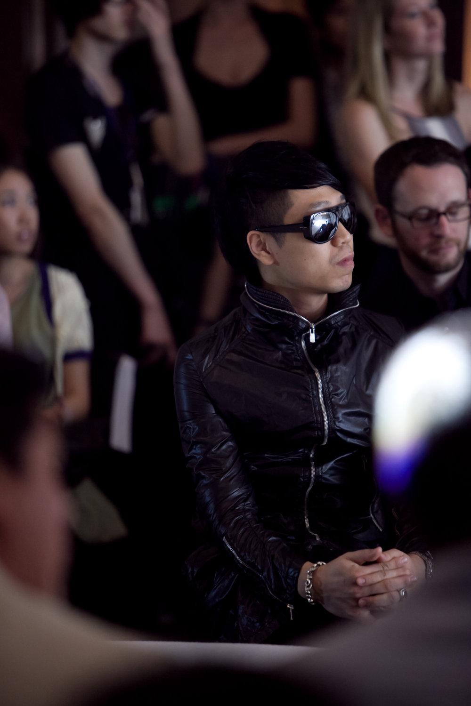Designer Koyo William Cheung attends the Redress Design Award 2011 Grand Final Show