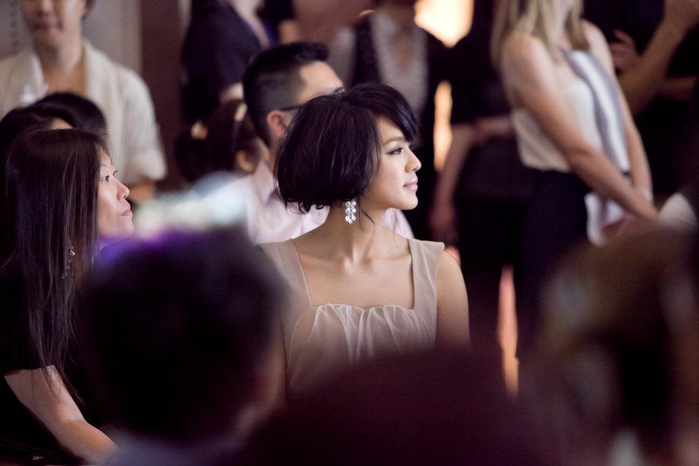 Hong Kong singer and actress Ella Koon attends the Redress Design Award 2011 Grand Final Show