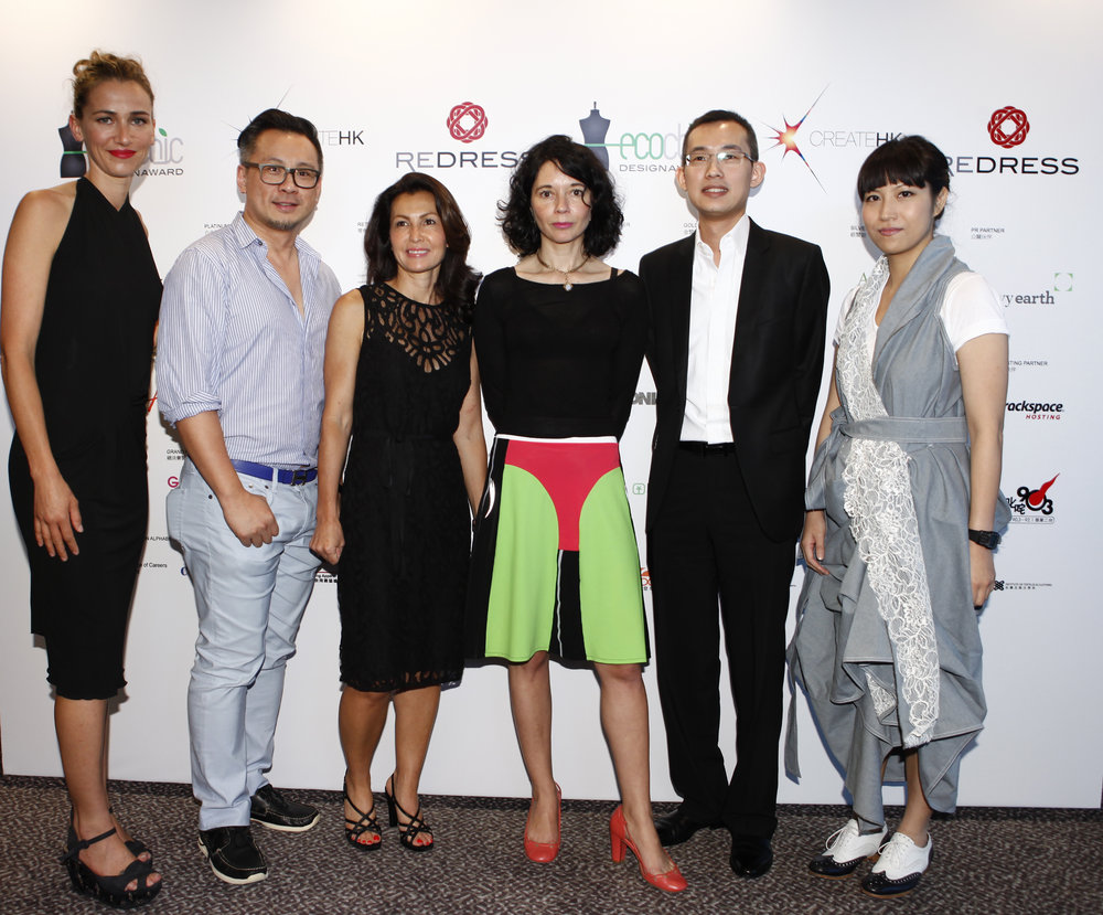 Redress Design Award 2013 judges including Margaret Kutt, Orsola de Castro and Anderson Lee
