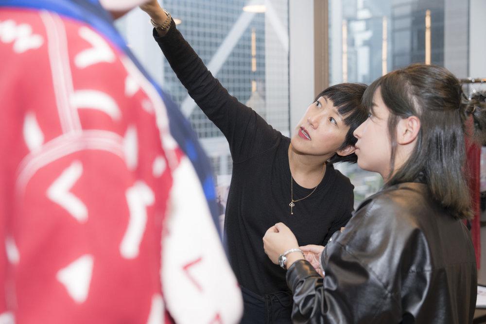 Hong Kong stylist attends the Redress Design Award 2018 Hong Kong launch event.