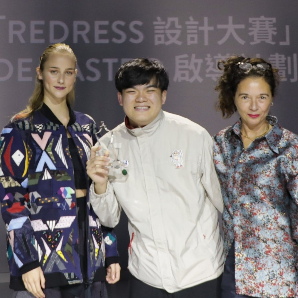 Second Prize:  The Redress Design Award 2018 Mentorship with Orsola de Castro   Jesse Lee, Hong Kong