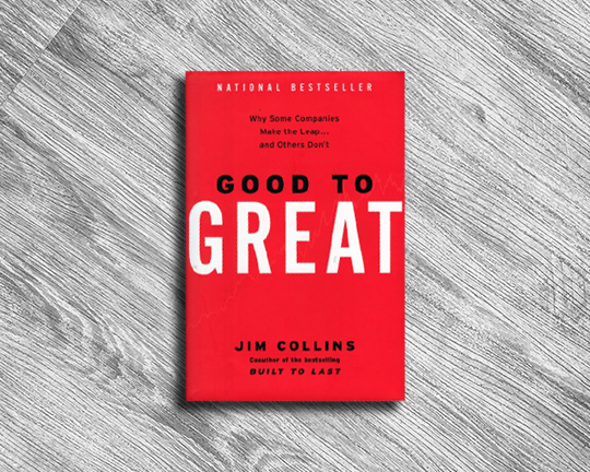 GOOD TO GREAT JIM COLLINS JANUARY 2017