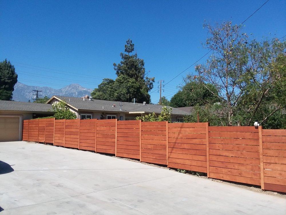 75 ft. Horizontal style Acorn Bown fence