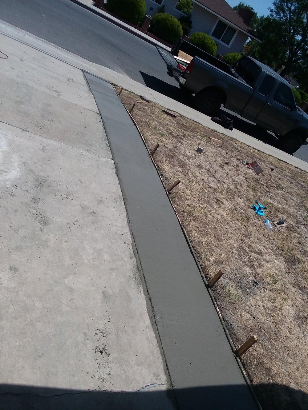 Small Driveway addition