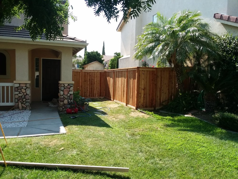 Part side of Multi part project in upland, CA