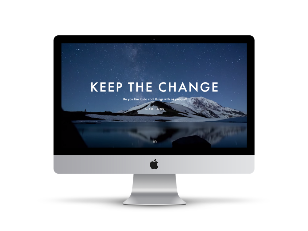 Max Pete provided Squarespace website design, development, brand strategy, content creation, and digital marketing strategy for Keep The Change.