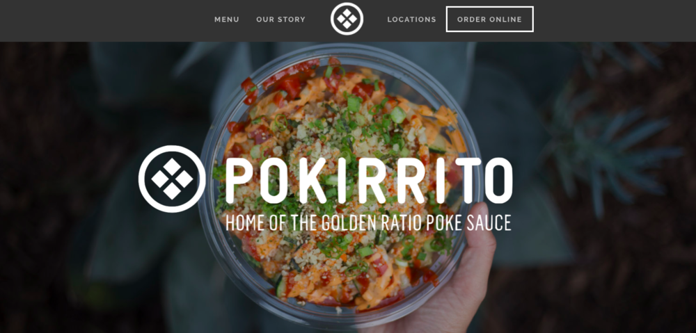 <p><strong>Pokirrito</strong>Website Design<i>More →</i></p>
