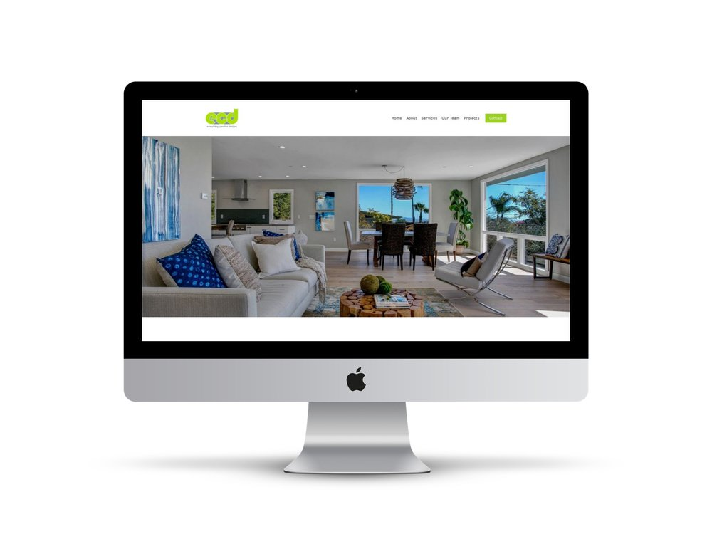 Max Pete provided Squarespace website design and development for Everything Creative Designs.