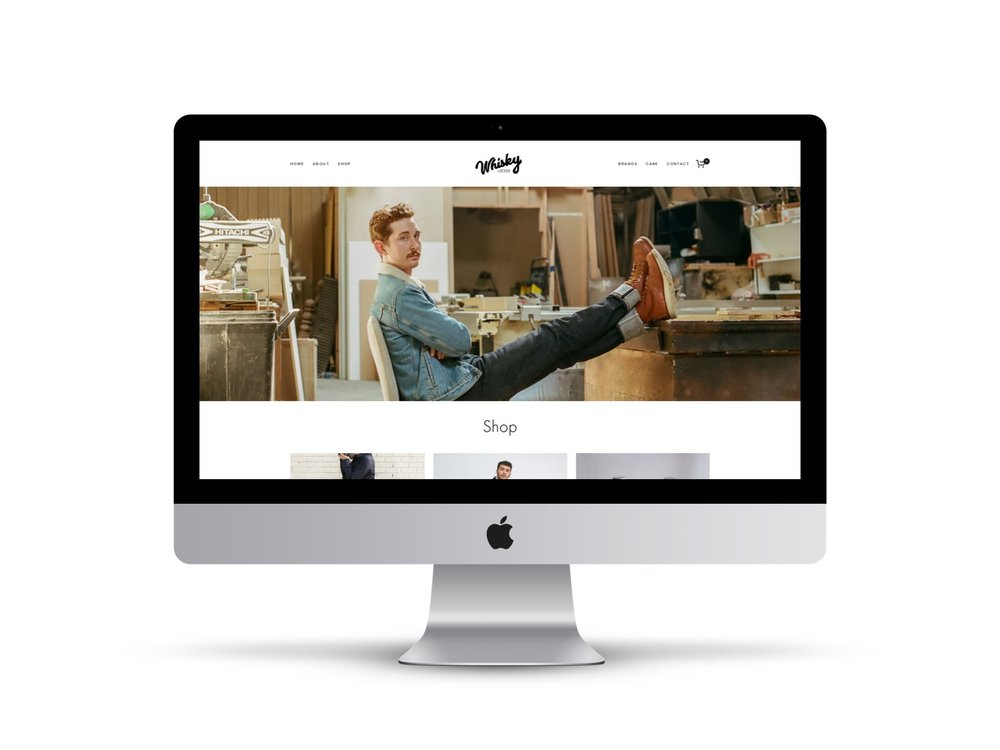 Max Pete provided Squarespace website design and development for Whisky Locker.