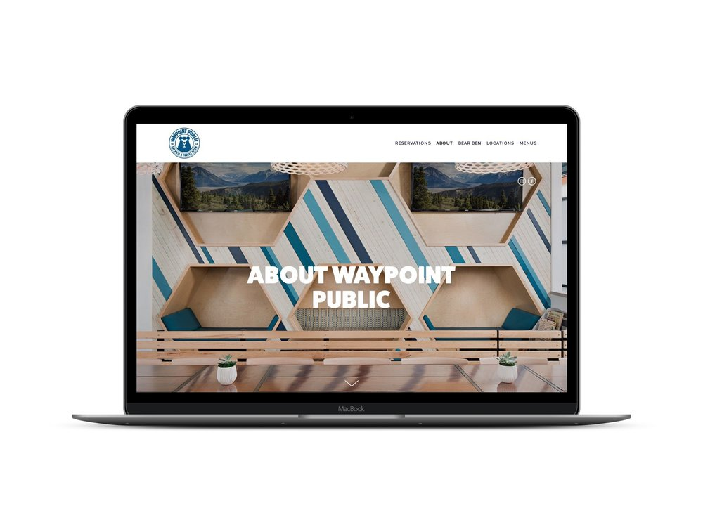 Max Pete provided Squarespace website design and development for Waypoint Public.
