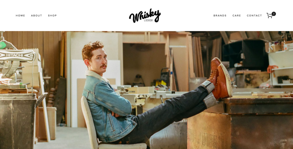 <p><strong>Whisky Locker</strong>Squarespace Website Design<i>More →</i></p>