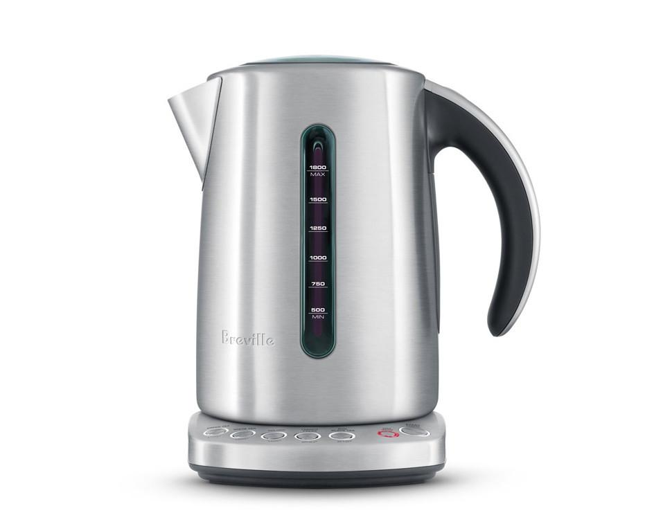 Breville IQ Kettle - Living in Colorado made boiling or cooking anything very time consuming due to the higher elevation; and after years of using a stove tea kettle, I decided it was time to go the electric route.  After a little bit of research I decided on this Breville kettle which has five different temps programed specifically for different types of teas, because apparently certain teas should be brewed at different temps (who knew?).  I'm not sure how I lived without it and now I use this multiple times a day for tea and for the few times I actually cook.
