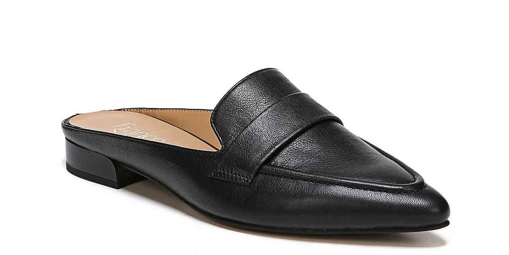 Frano Sarto Sophia Mule - Another standout style of the year were mules, whether they were flat or heeled, I fell in love with them. I love how they look on the foot and elongate the leg and an added bonus is you didn't have to worry about those annoying heel blisters. I plan to wear my mules even more in 2018 and might even pick up the taupe color in this style.