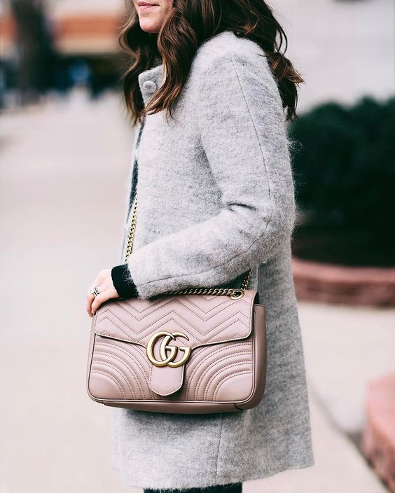 Liz always has amazing bags.  I absolutely love her blush Gucci *insert a million heart eye emojis*