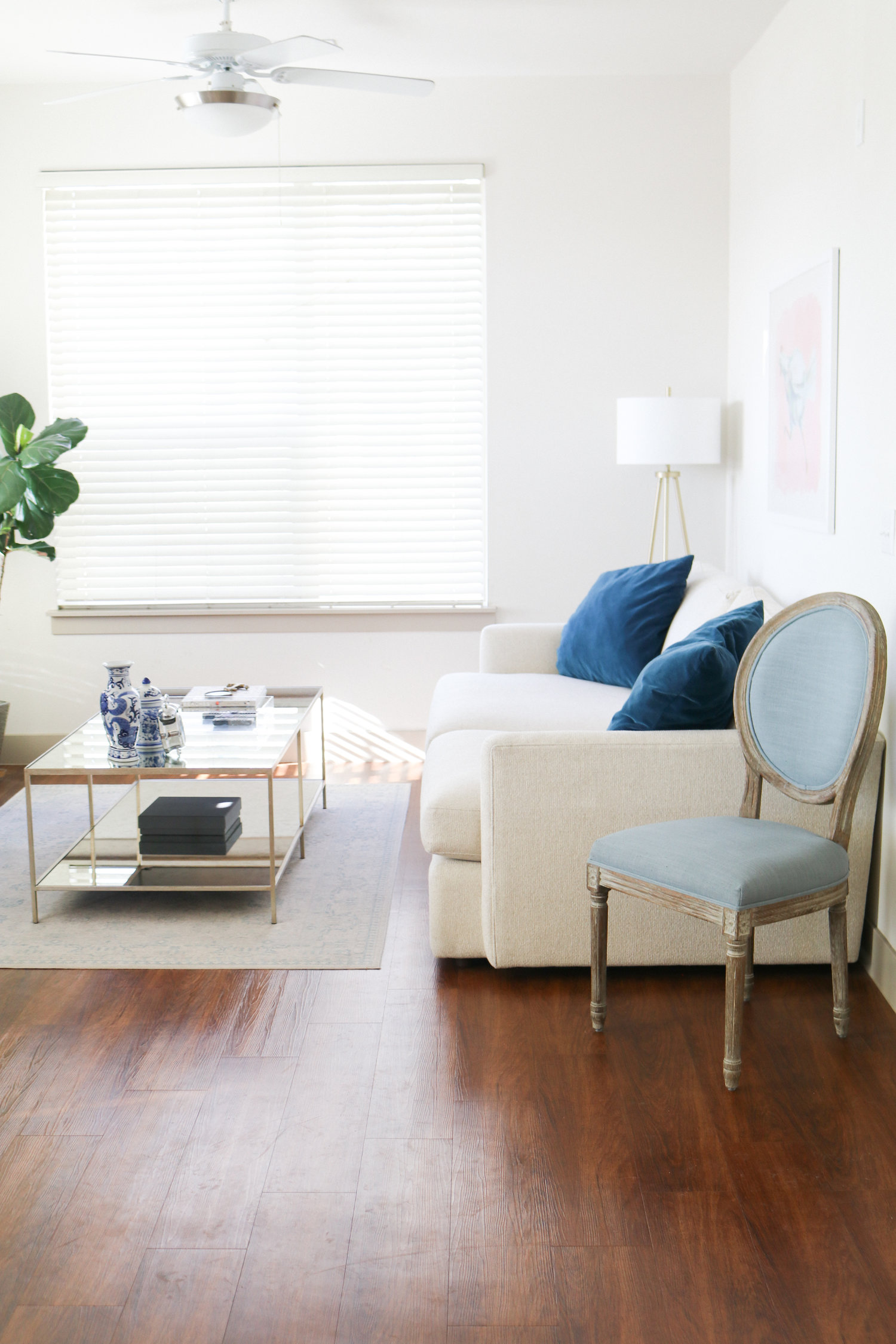 Our Denver Apartment Living Room + My 5 Rules for Decorating