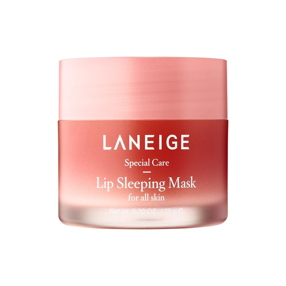 Laneige Lip Sleeping Mask - I like to think of this as the Jet Lag Mask for your lips.  I've been using up a sample of this mask and the second it runs out I'm buying the full size ASAP!  It's very smooth and glossy (not sticky, though!) and adds a soft pink tint to the lips while leaving them extremely hydrated.  I wear this day and night and my lips have improved dramatically.  Looking for a finger-free and cheaper option? Try this!