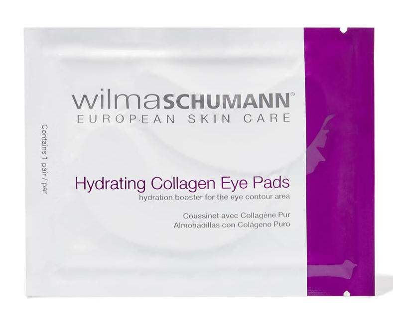 Wilma Schumann Hydrating Collagen Eye Pads - If puffiness is your airline burden, collagen eye pads are going to be your new favorite thing.  I have gone through multiple packs of these (I've got a new pack coming in the mail tomorrow!).  I love that they are really saturated, leave a cool and tingly feeling under the eyes, and the packaging is small enough to keep in your purse. Also these are a lot less weird looking than a sheet mask!