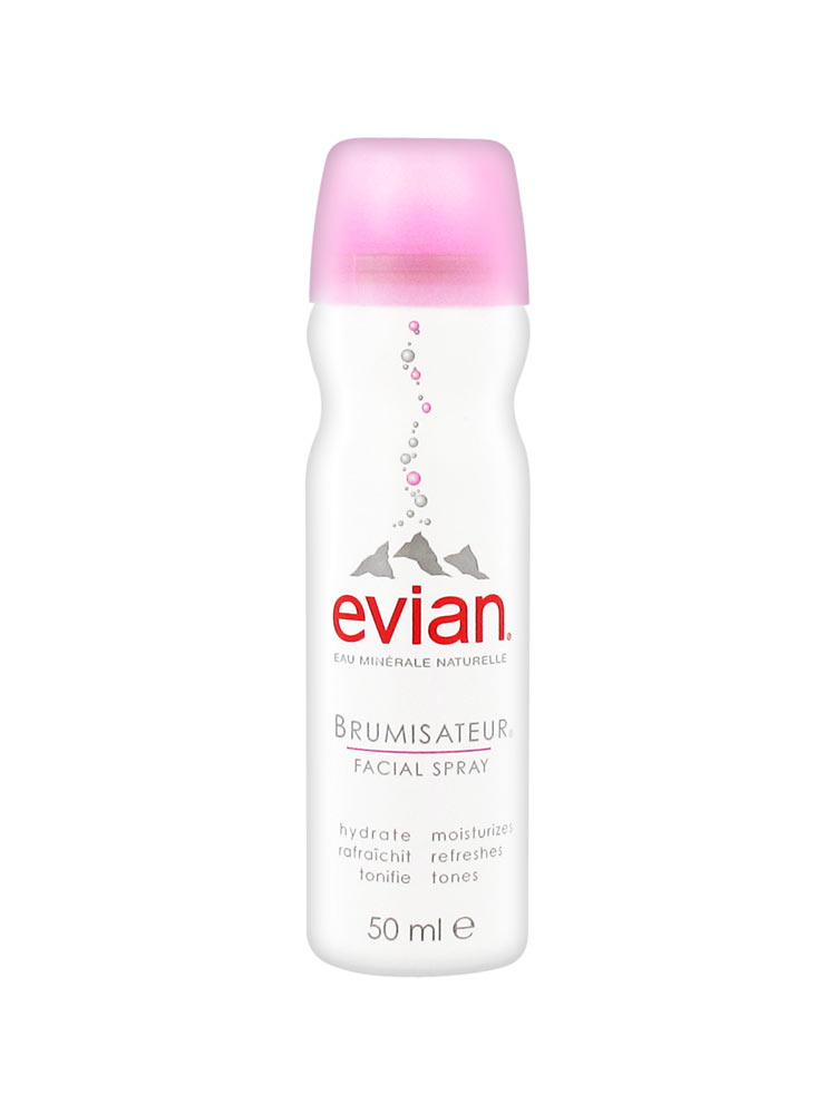 Evian Facial Spray - A true classic.  Evian facial sprays are so useful to always have on hand!  They are perfect for hot summer days when you just need a shot of refreshment, to help revive tired looking skin and makeup, and ideal for air travel at the beginning and end of your flight.  Sephora sells a really great three pack of the travel sizes so you can have on in the car, purse, and your carry-on!