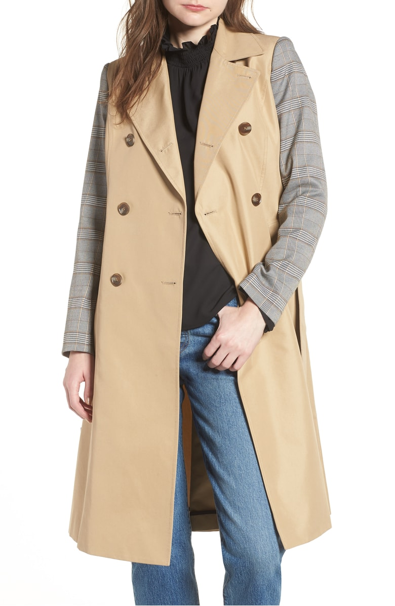 Mural Belted Trench - The only way to describe this trench is chic. I honestly can't believe it's under $100!